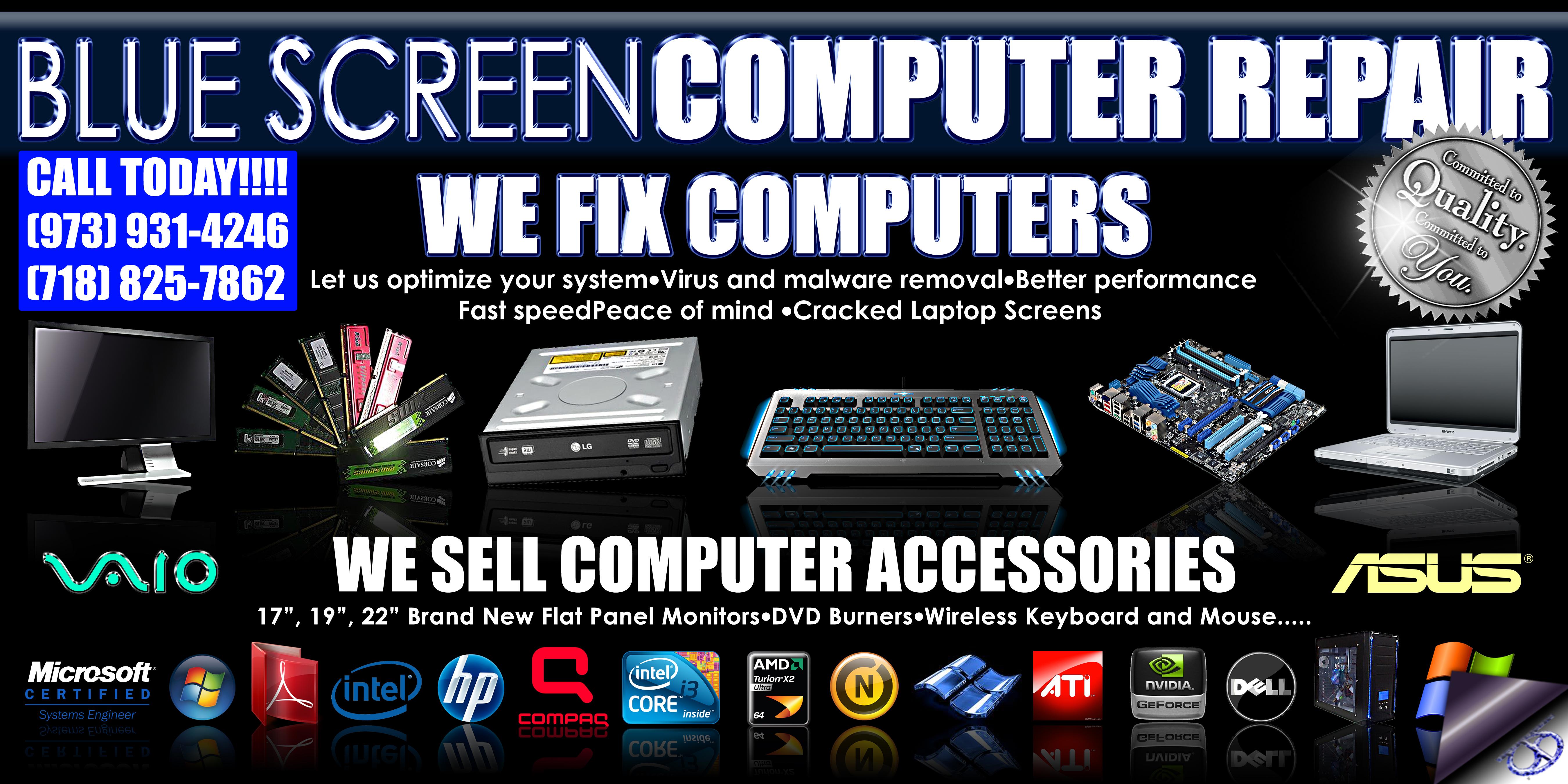 computer repair banner